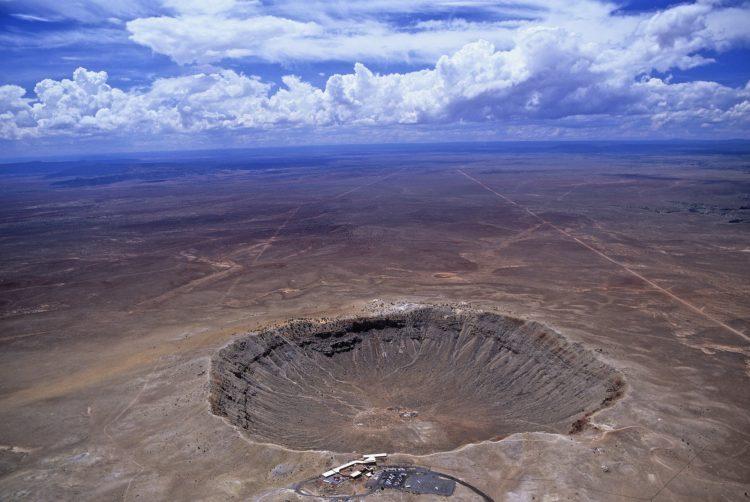 Самый большой метеоритный кратер на земле