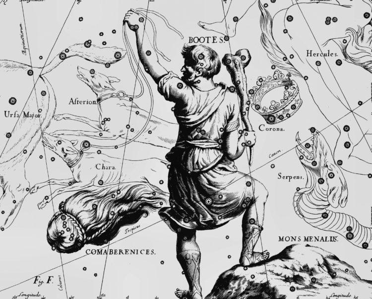 Альфа созвездия волопас